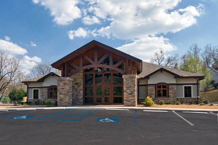 Mcabee architects inc is a full service architectural for Architects greenville sc